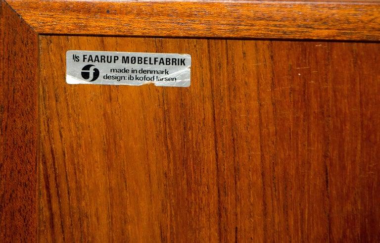 Danish Teak Credenza, Ib Kofod-Larsen  For Sale 4