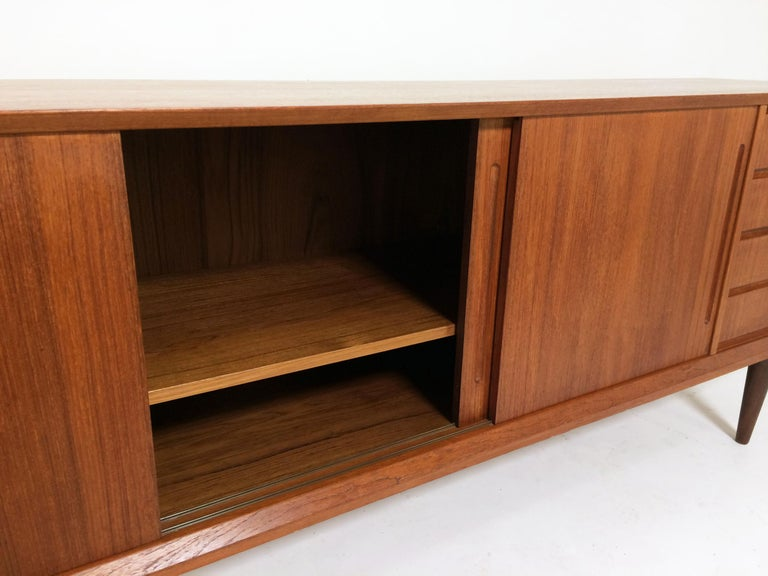 Danish Teak Credenza For Sale : Danish teak credenza by alderslyst mobelfabrik circa 1960s for sale