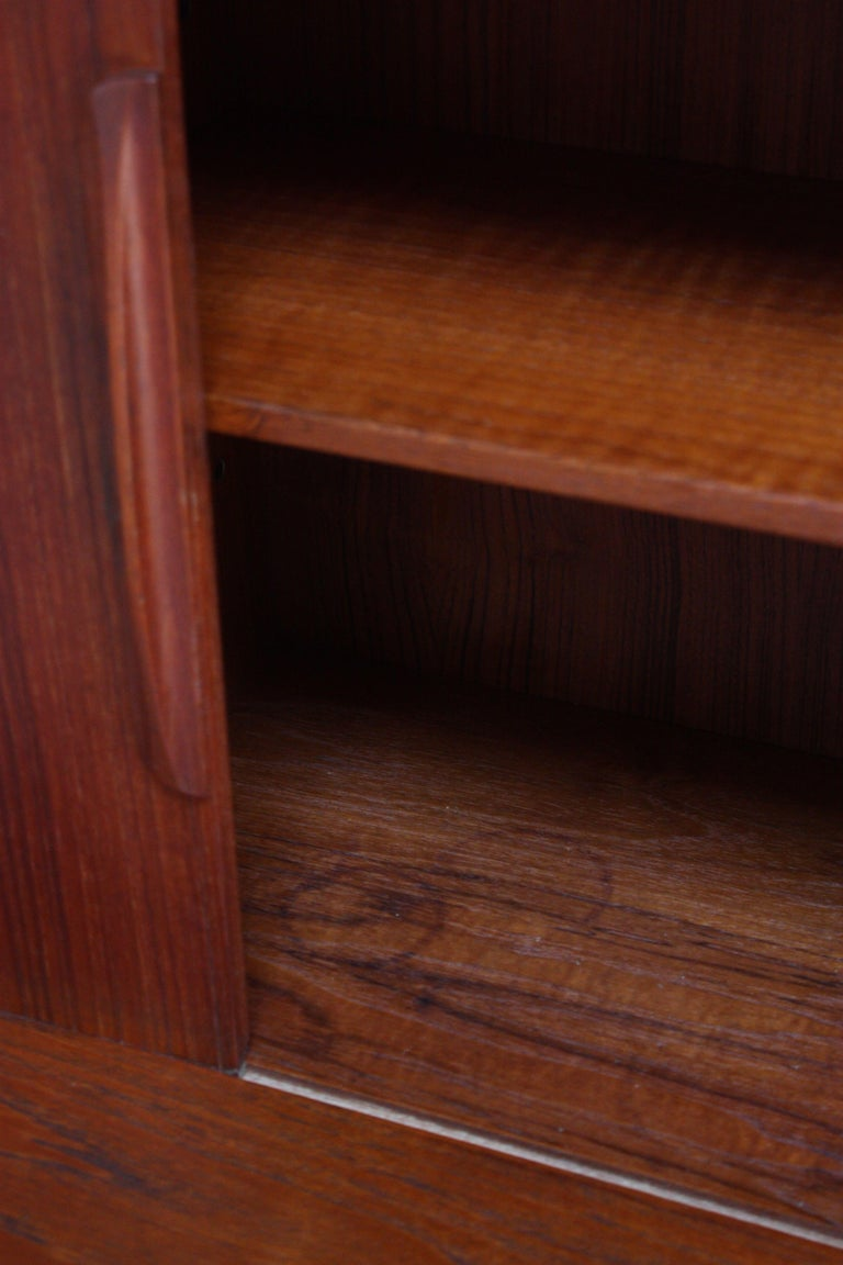 Danish Teak Credenza by IB Kofod-Larsen for Faarup For Sale 8