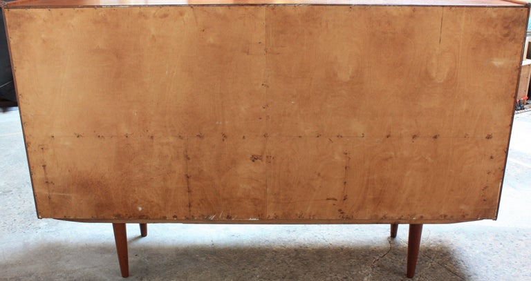 Danish Teak Credenza by IB Kofod-Larsen for Faarup For Sale 11