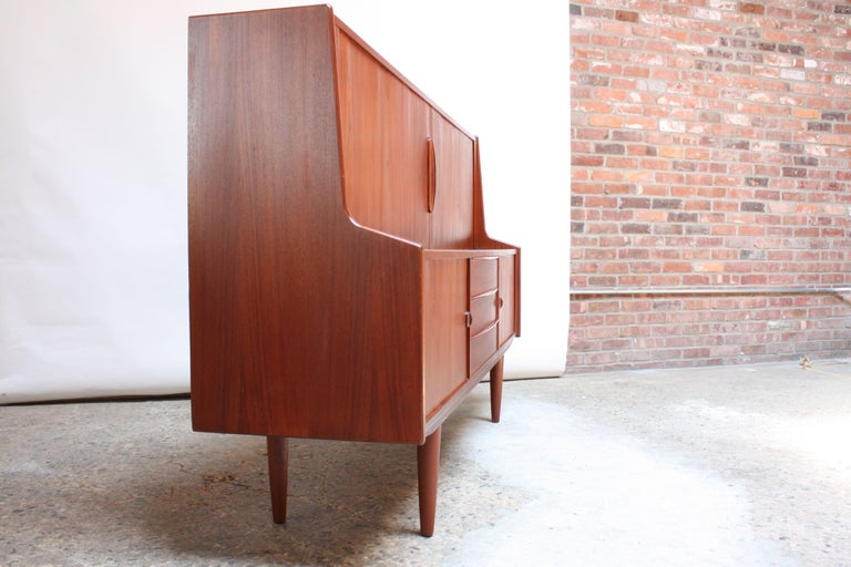 Mid-20th Century Danish Teak Credenza by IB Kofod-Larsen for Faarup For Sale