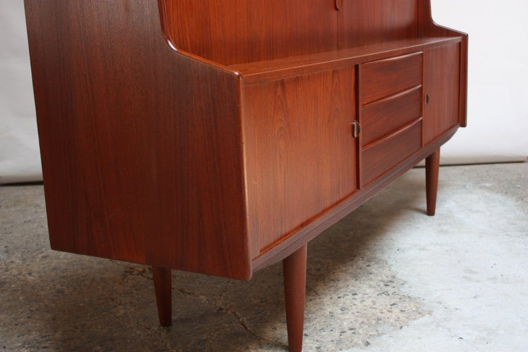 Danish Teak Credenza by IB Kofod-Larsen for Faarup For Sale 2