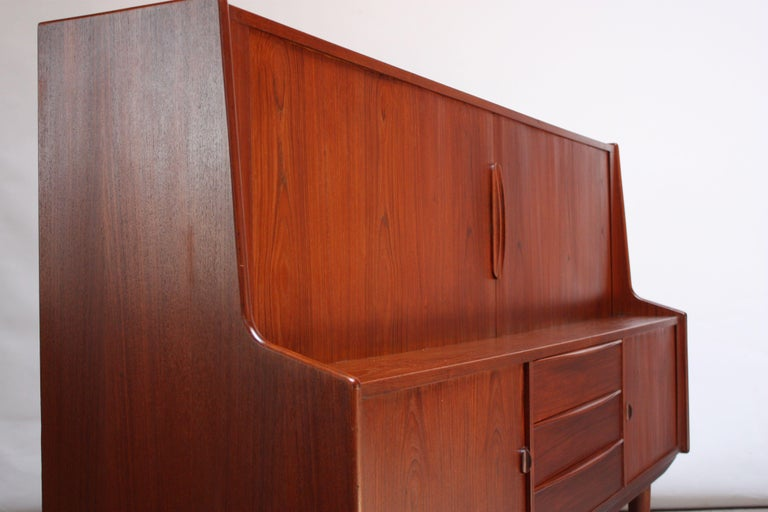 Danish Teak Credenza by IB Kofod-Larsen for Faarup For Sale 3