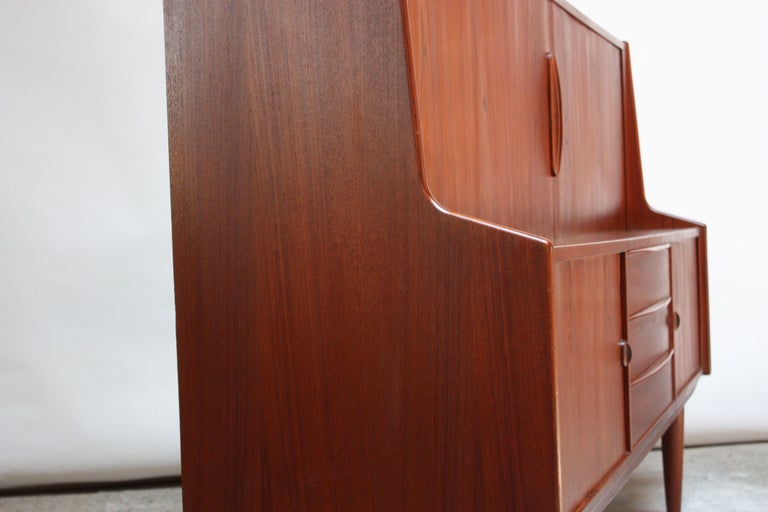 Danish Teak Credenza by IB Kofod-Larsen for Faarup For Sale 4