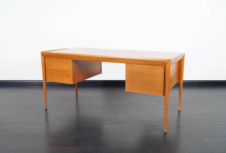 Danish Teak Desk by Erik Riisager Hansen  For Sale 2