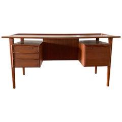 Danish Teak Desk by Peter Lovig Nielsen for Dansk Designs, 1967