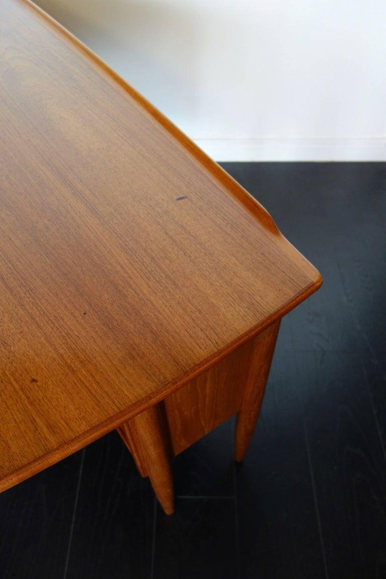 Danish Teak Desk by Peter Løvig Nielsen, 1960s For Sale 10