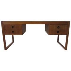 Danish Teak Desk in the Style of Henning Jensen / Torben