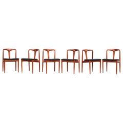 Danish Teak Dining Chairs by Johannes Andersen for Uldum Møbelfabrik, 1960s