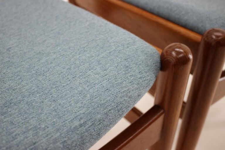 Danish Teak Dining Chairs from Sorø Stolefabrik, 1960s, Set of 6 6