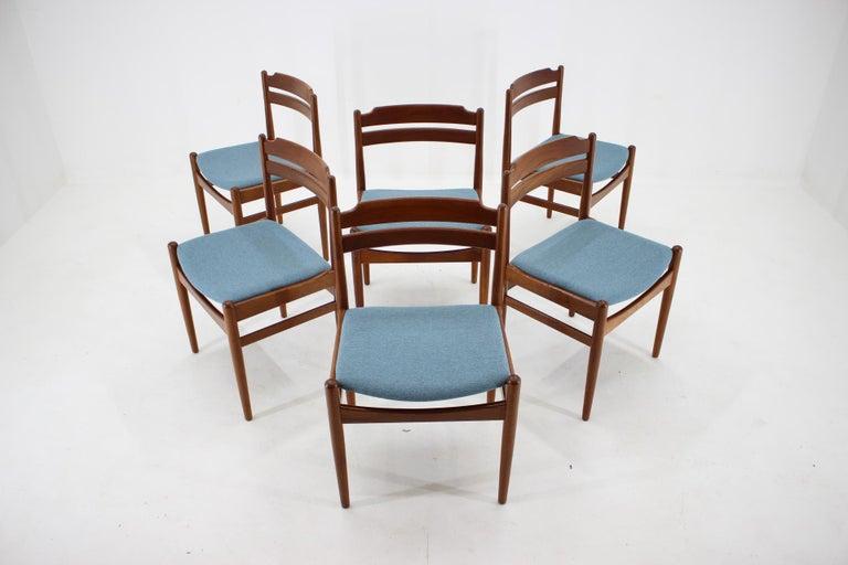 Mid-Century Modern Danish Teak Dining Chairs from Sorø Stolefabrik, 1960s, Set of 6