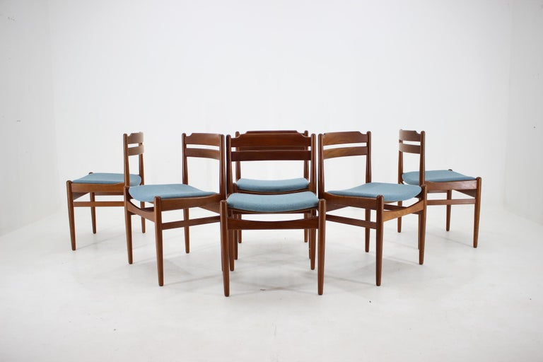 Danish Teak Dining Chairs from Sorø Stolefabrik, 1960s, Set of 6 In Good Condition In Praha, CZ