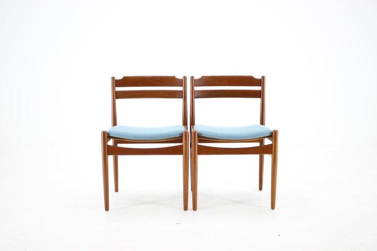 Mid-20th Century Danish Teak Dining Chairs from Sorø Stolefabrik, 1960s, Set of 6