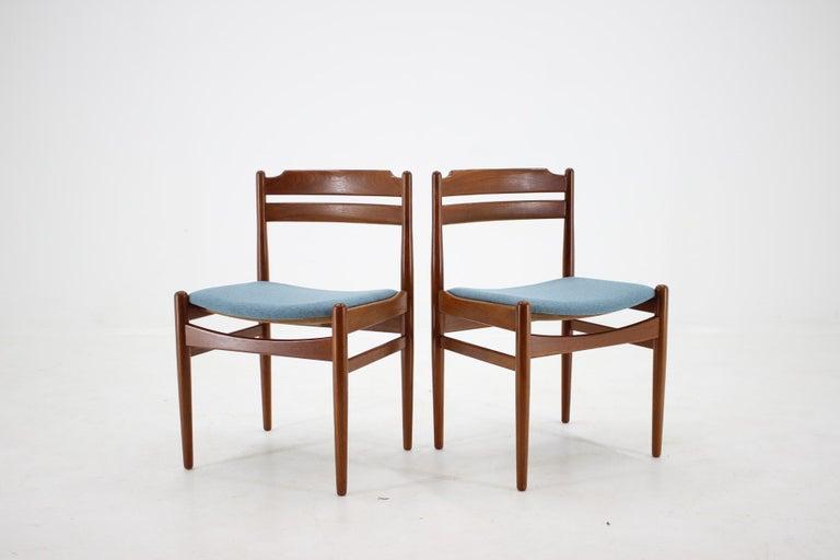 Danish Teak Dining Chairs from Sorø Stolefabrik, 1960s, Set of 6 1