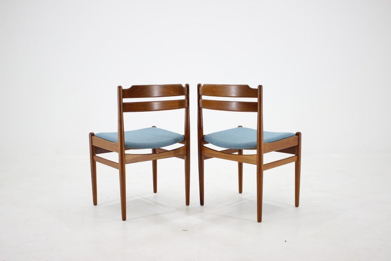 Danish Teak Dining Chairs from Sorø Stolefabrik, 1960s, Set of 6 3