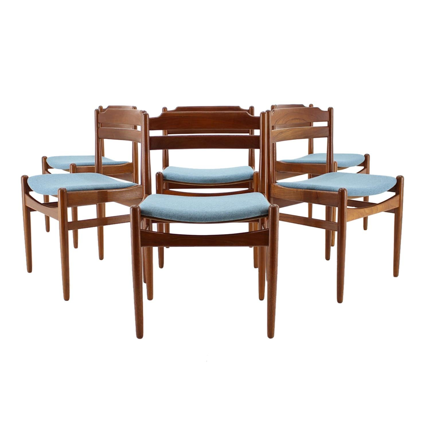 Danish Teak Dining Chairs from Sorø Stolefabrik, 1960s, Set of 6