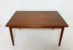 Danish Teak Dining Table By AM Mobler Ca. 1960s