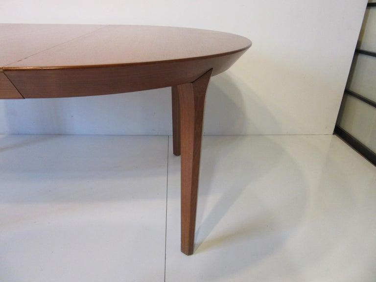 20th Century Danish Teak Dining Table by Ole Hald for Gudme Mobelfabrik For Sale
