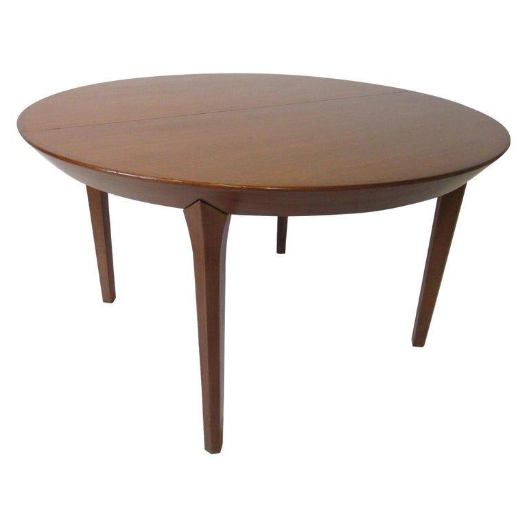 Danish Teak Dining Table by Ole Hald for Gudme Mobelfabrik For Sale
