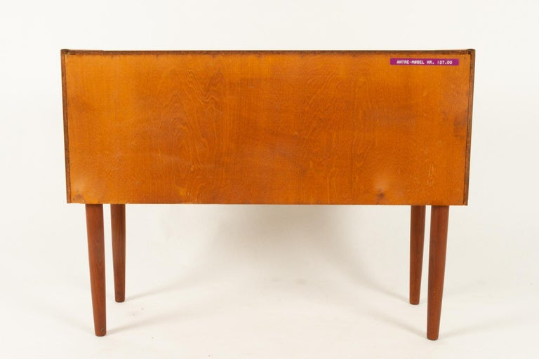 Danish Teak Dresser, 1960s For Sale 6
