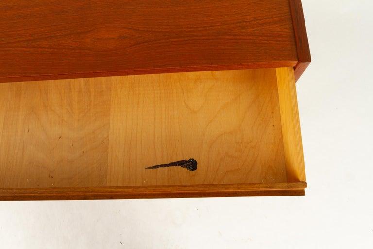 Danish Teak Dresser, 1960s For Sale 8