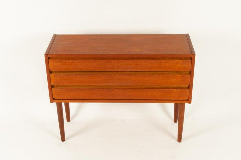 Mid-20th Century Danish Teak Dresser, 1960s For Sale