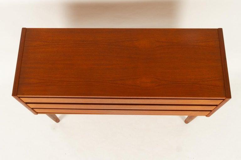 Danish Teak Dresser, 1960s For Sale 1