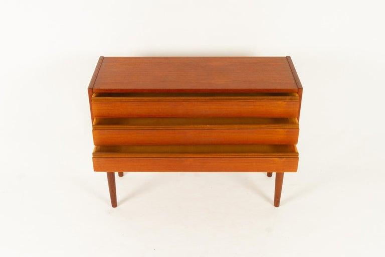 Danish Teak Dresser, 1960s For Sale 2