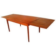 Danish Teak Extra Large Extendable Dining Table
