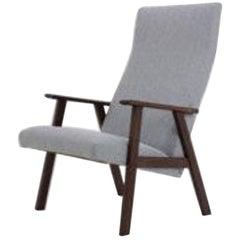Danish Teak Highback Easy Chair, 1960s