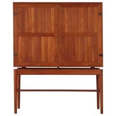 Danish Teak Linen Cabinet