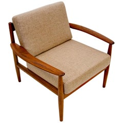 Danish Teak Lounge Chair by Grete Jalk for France & Daverkosen