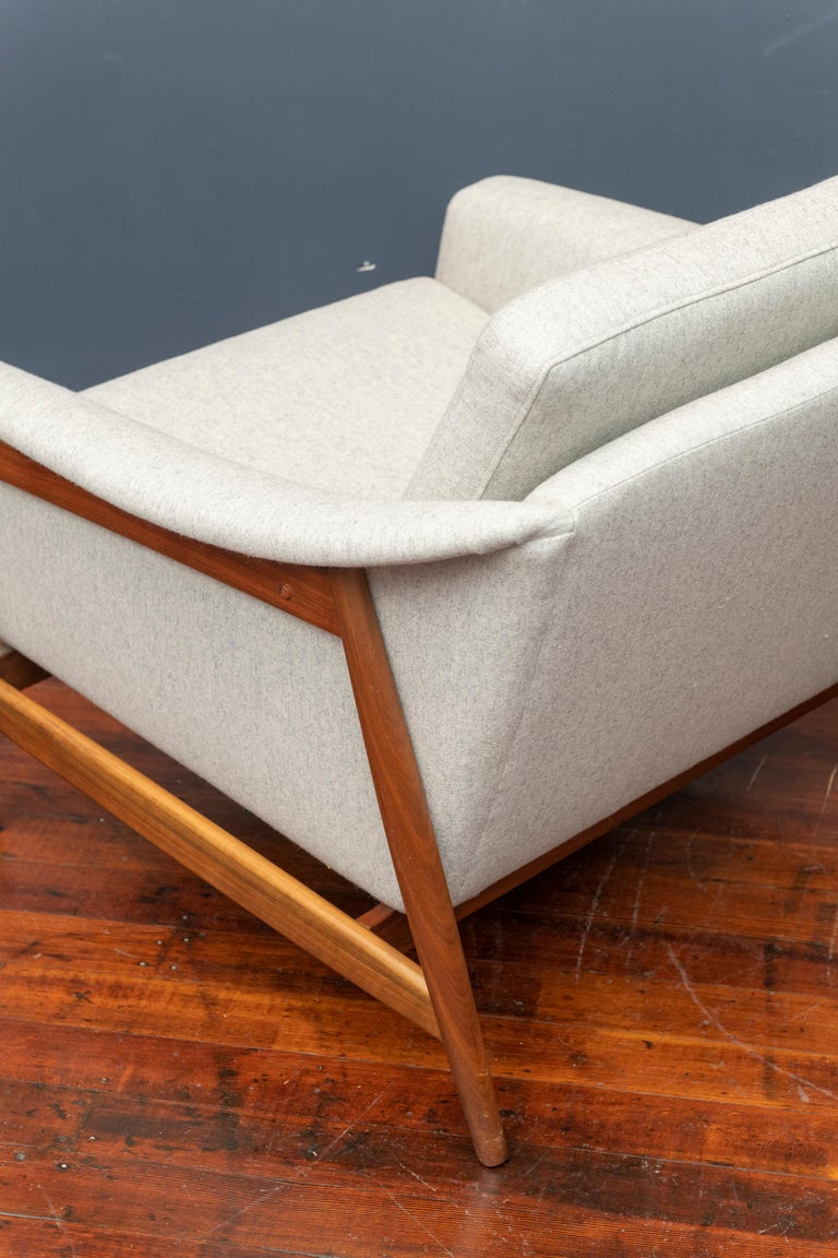 Danish Teak Lounge Chairs by Folks Ohlsson For Sale 1