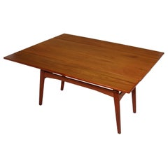 Danish Teak Metamorphic Dining / Coffee Table
