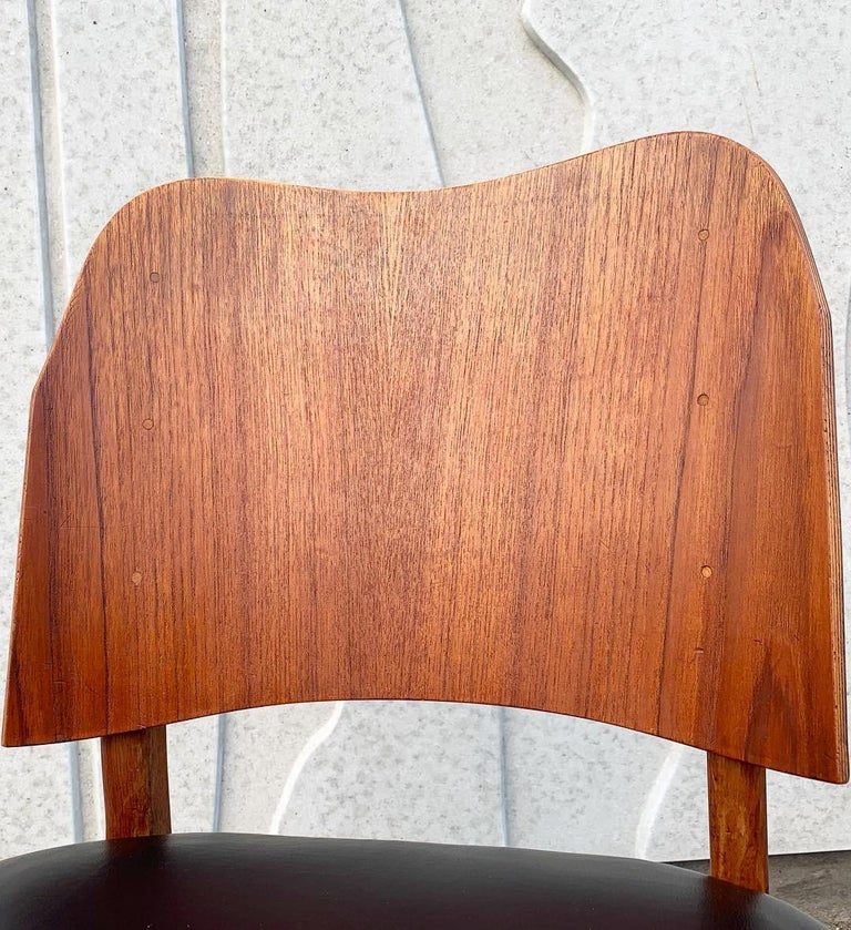 Danish Teak Midcentury Dining Chairs from Bramin, Set of 4 12
