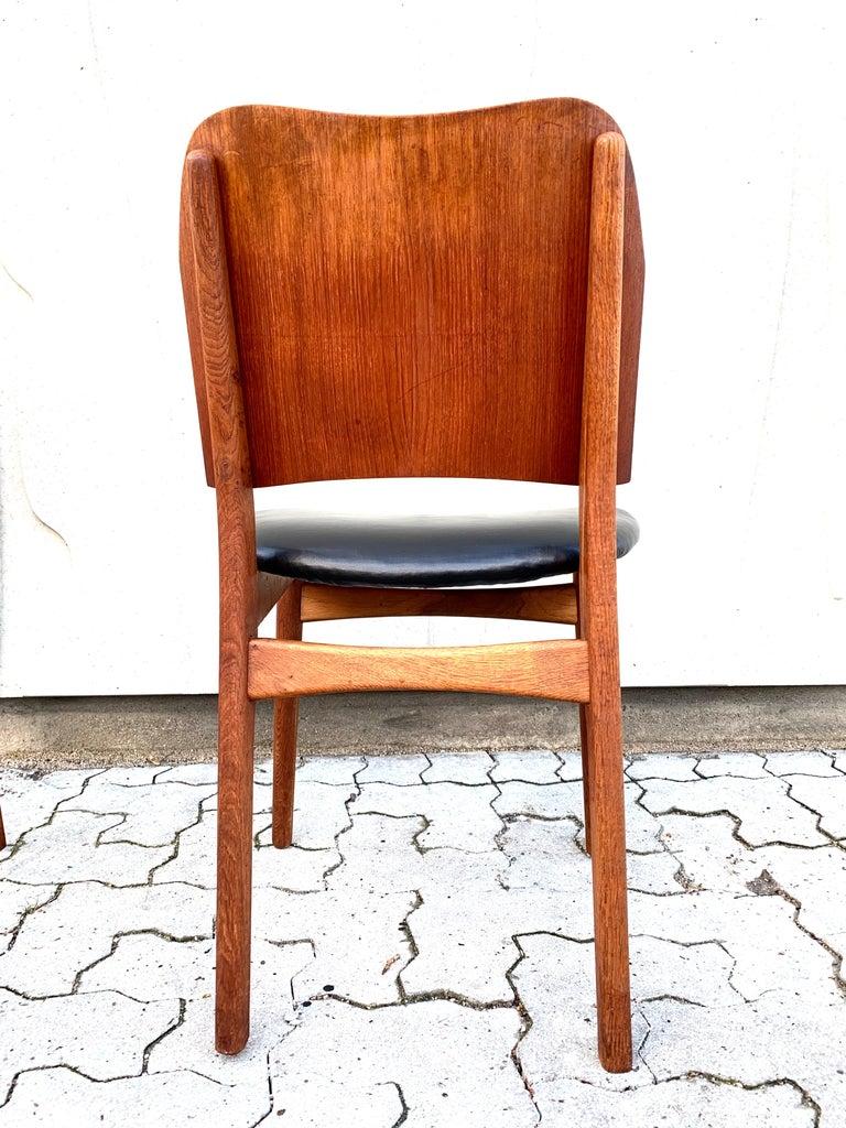 Danish Teak Midcentury Dining Chairs from Bramin, Set of 4 5