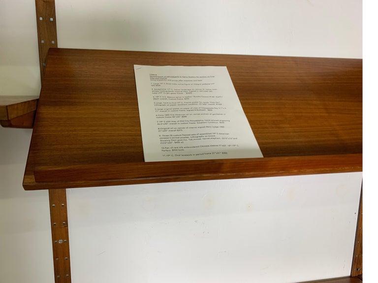 Danish Teak Modular Wall Unit by Thygesen and Sorensen for HG Furniture For Sale 4