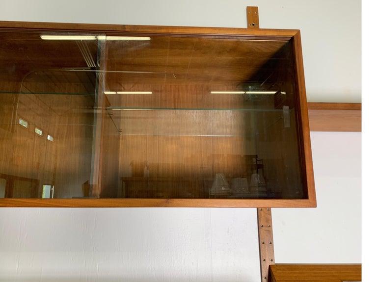 Danish Teak Modular Wall Unit by Thygesen and Sorensen for HG Furniture For Sale 5