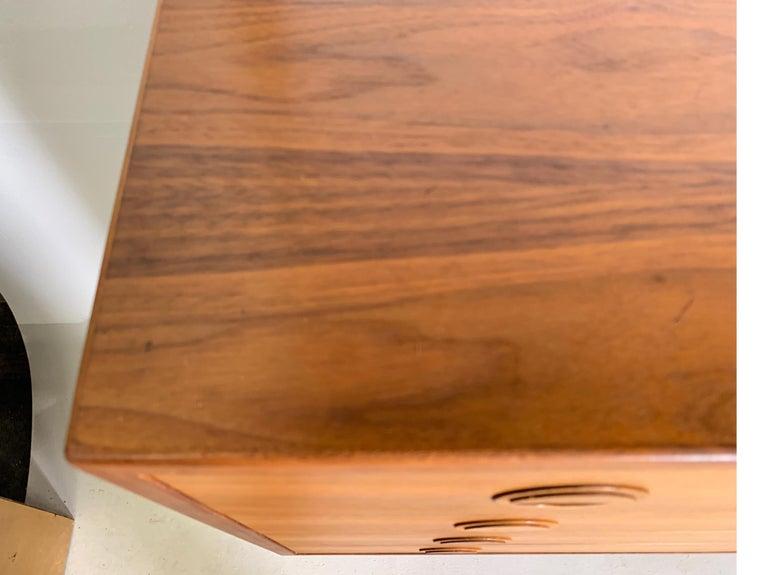 Danish Teak Modular Wall Unit by Thygesen and Sorensen for HG Furniture For Sale 6