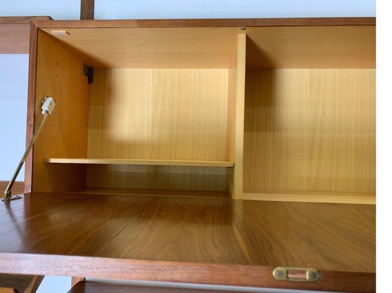 Danish Teak Modular Wall Unit by Thygesen and Sorensen for HG Furniture For Sale 10