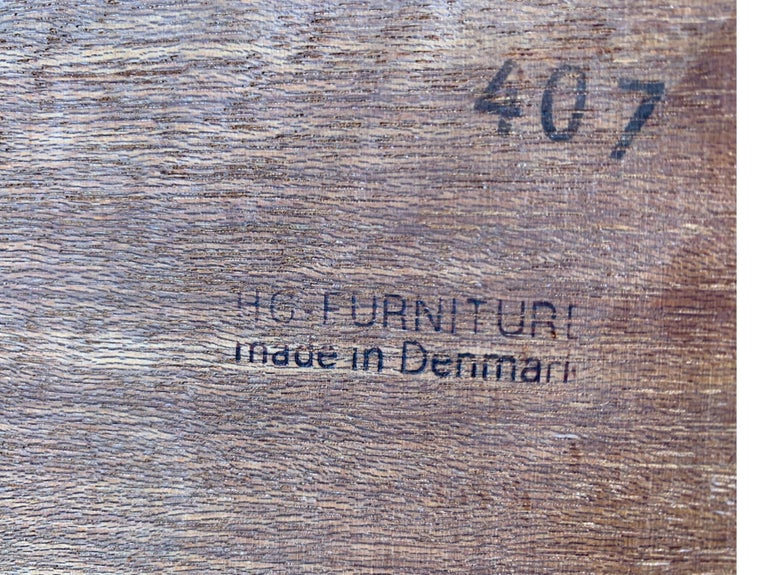 Danish Teak Modular Wall Unit by Thygesen and Sorensen for HG Furniture For Sale 12