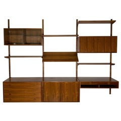 Danish Teak Modular Wall Unit by Thygesen and Sorensen for HG Furniture