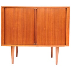 Danish Teak Record Player Cabinets by Kai Kristiansen for FM Møbler