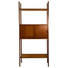 Danish Teak Room Divider Wall Unit