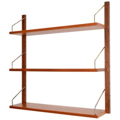 Danish Teak Royal Shelving Bookshelf by Poul Cadovius