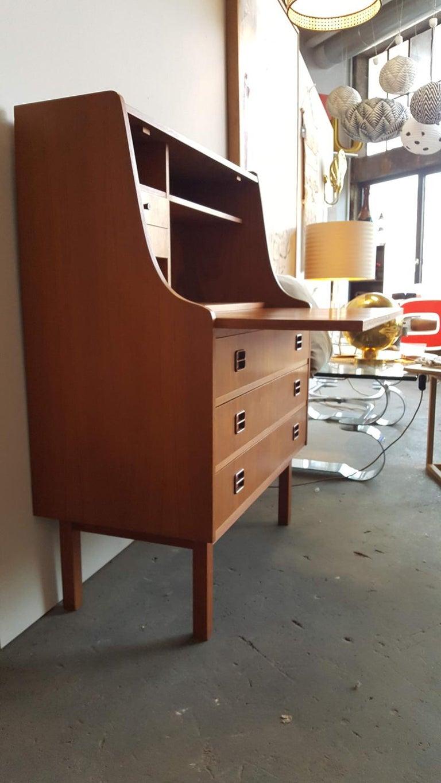 Danish Teak Secretary from the 1960s For Sale 4
