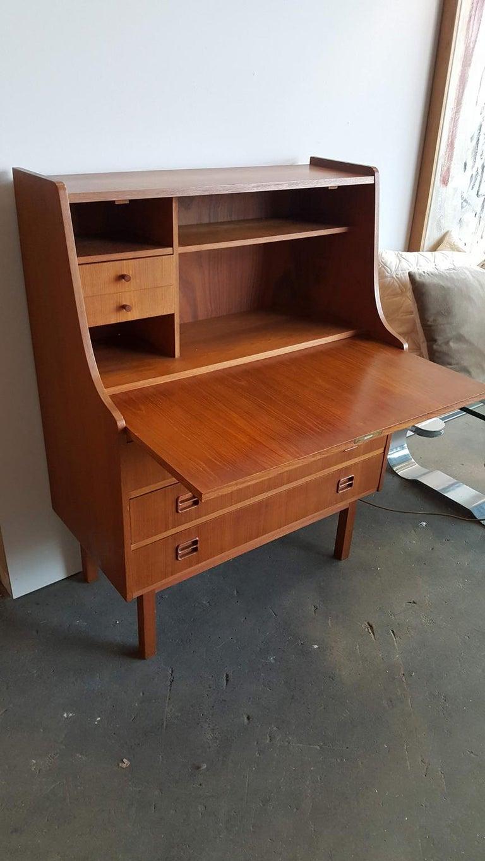 Danish Teak Secretary from the 1960s For Sale 2