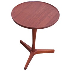 Danish Teak Side Table By Hans C. Andersen for Artex