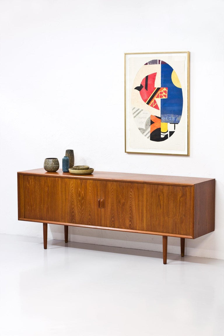 20th Century Danish Teak Sideboard by Svend Aage Larsen for Faarup Mobelfabrik, 1960s