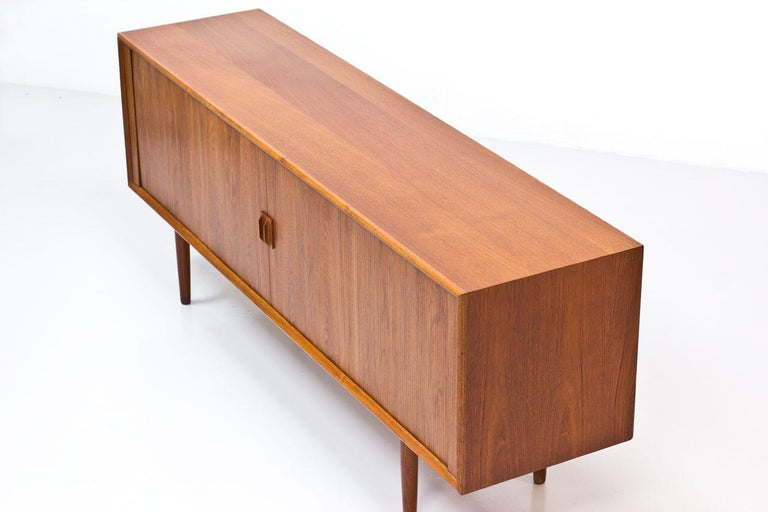 Danish Teak Sideboard by Svend Aage Larsen for Faarup Mobelfabrik, 1960s 3